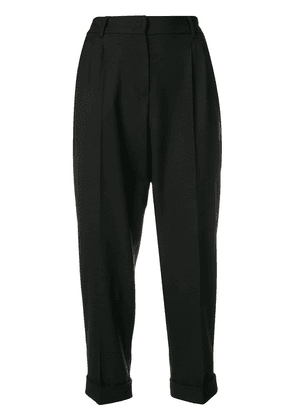 Dolce & Gabbana slim-fit cropped trousers - Black