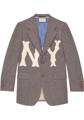 Gucci Wool jacket with NY Yankees™ patch - Black