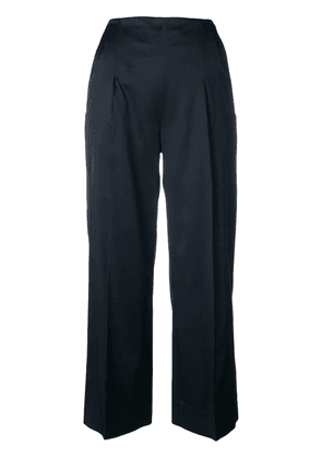 Chalayan cropped trousers - Blue