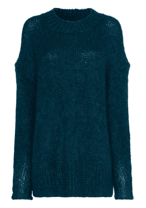 Isabel Marant idol mohair and wool mix jumper - Green