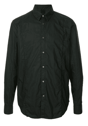 Forme D'expression layered front shirt - Black