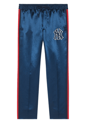 Gucci Jogging pants with NY Yankees™ patch - Blue