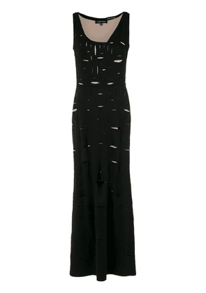 Gloria Coelho cut out details gown - 1002