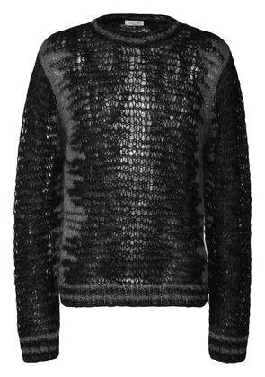 Valentino Valentino Garavani furry sweater - Black