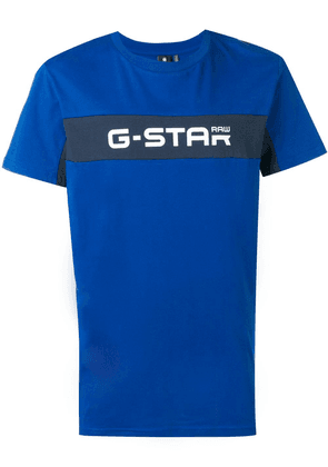 G-Star Raw Research logo print T-shirt - Blue