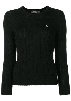 Polo Ralph Lauren embroidered logo jumper - Black