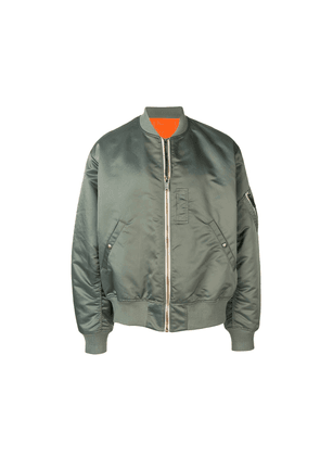 Christian Dada classic bomber jacket - Green