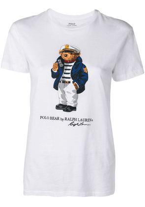 Polo Ralph Lauren Polo Bear printed T-shirt - White