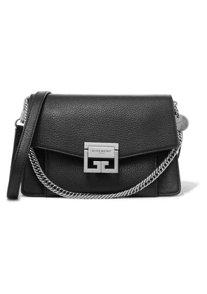 Givenchy - Gv3 Small Textured-leather Shoulder Bag - Black