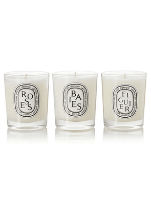 Diptyque - Set Of Three Scented Candles, 3 X 70g - one size