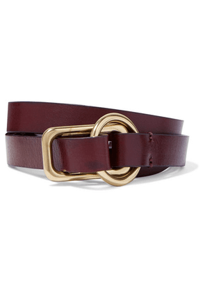 Anderson's - Leather Belt - Dark brown