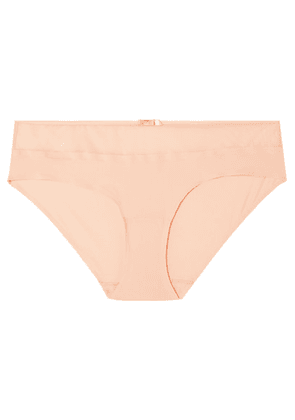 Chantelle - Aéria Stretch-mesh And Tulle Briefs - Beige