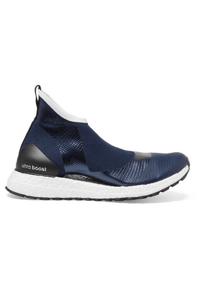 adidas by Stella McCartney - + Parley For The Oceans Ultraboost X All Terrain Metallic Primeknit Sneakers - Navy