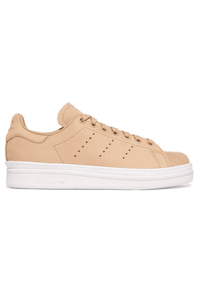 adidas Originals - Stan Smith Bold Leather Sneakers - Neutral