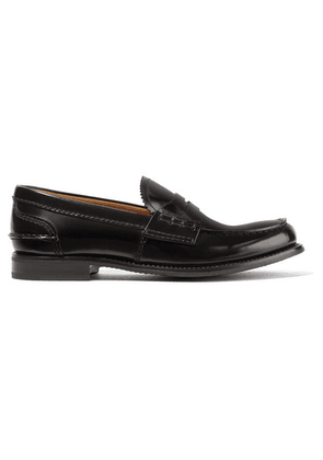 Church's - Pembrey Glossed-leather Loafers - Black