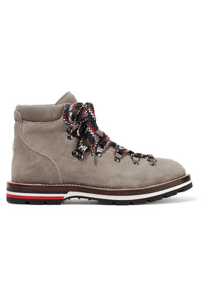 Moncler - Blanche Suede Ankle Boots - Mushroom