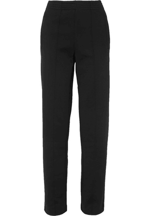 Givenchy - Embroidered Ponte Track Pants - Black