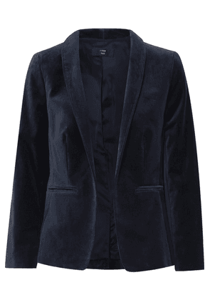 J.Crew - Cotton-blend Velvet Blazer - Navy