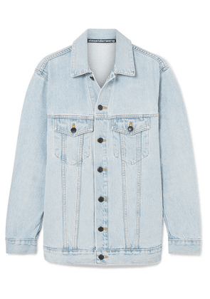 Alexander Wang - Daze Oversized Denim Jacket - Light denim