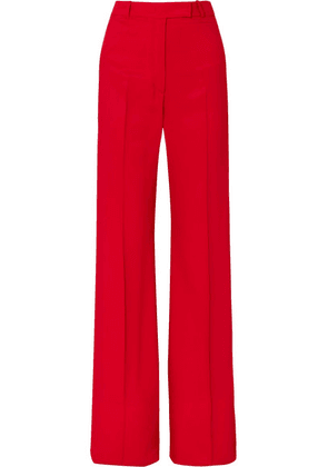 Golden Goose Deluxe Brand - Carrie Drill Wide-leg Pants - Red