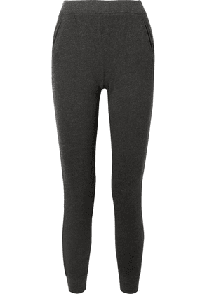 ATM Anthony Thomas Melillo - French Cotton-blend Terry Track Pants - Black