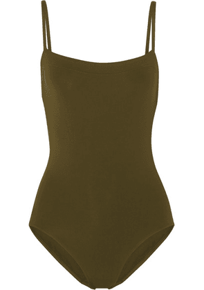 Eres - Les Essentiels Aquarelle Swimsuit - Army green