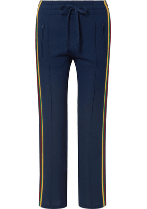 Isabel Marant Étoile - Dobbs Striped Knitted Track Pants - Midnight blue