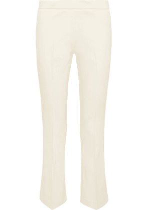 Giambattista Valli - Cotton-blend Twill Straight-leg Pants - Ivory