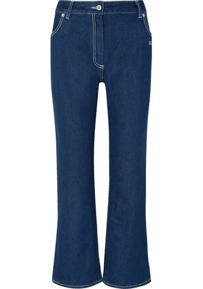 Off-White - High-rise Bootcut Jeans - Blue