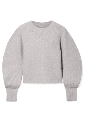 Isabel Marant - Swinton Ribbed Cashmere Sweater - Gray
