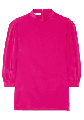 Givenchy - Silk Crepe De Chine Blouse - Pink