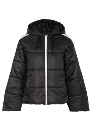 Gucci - Hooded Quilted Shell Jacket - Black