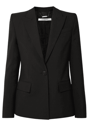 Givenchy - Wool-crepe Blazer - Black