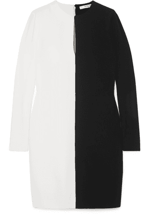 Givenchy - Two-tone Crepe Dress - Black