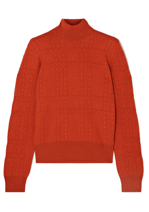 Bottega Veneta - Cashmere Turtleneck Sweater - Red
