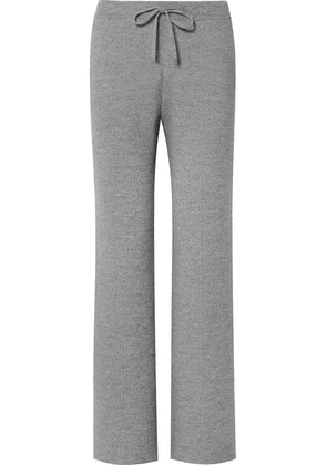 Bottega Veneta - Wool-blend Track Pants - Gray
