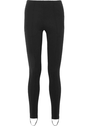 Balenciaga - Jogger Fuseau Stretch-ponte Stirrup Leggings - Black
