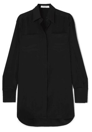 Givenchy - Silk Crepe De Chine Shirt - Black