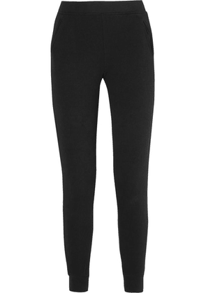ATM Anthony Thomas Melillo - French Cotton-terry Track Pants - Black