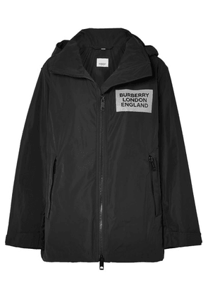 Burberry - Perspex-trimmed Shell Jacket - Black