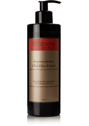 Christophe Robin - Regenerating Shampoo With Prickly Pear Oil, 400ml - one size
