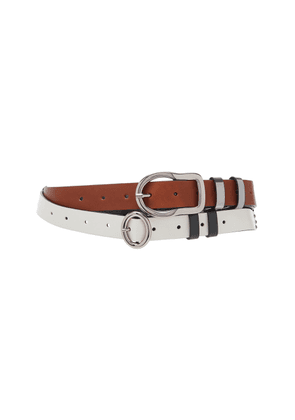 Dorothee Schumacher Dual Leather Belt
