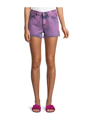 Darby Roberts Side-Slit Cutoff Shorts