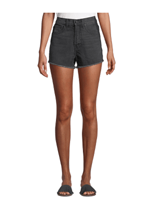 Drew High-Rise Classic Cutoff Shorts