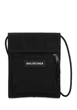 Logo Explorer Nylon Crossbody Bag
