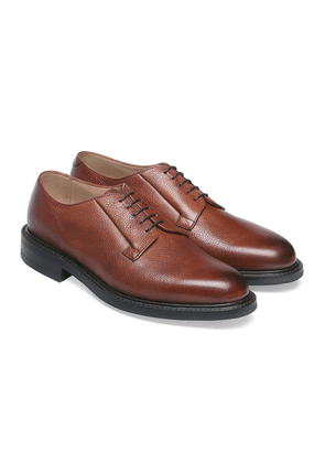Cheaney Burnished Mahogany Deal Derby Shoes