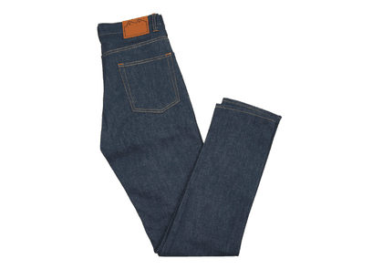 Indigo E5 Relaxed Tapered Organic Denim Jean