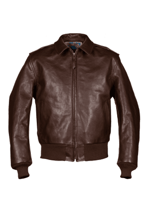 Brown Happy Days A2 Leather Jacket