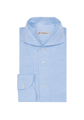 Blue Cervia Collar Linen Shirt