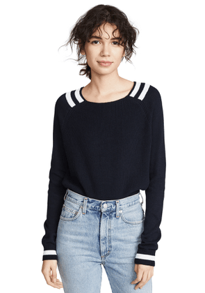 Autumn Cashmere Varsity Sweater